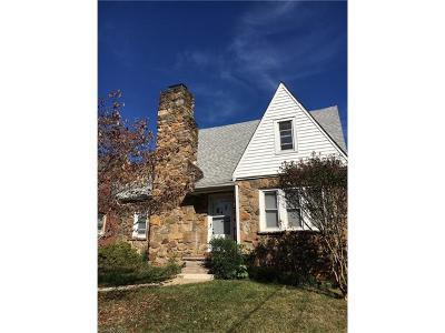 Asheville Single Family Home For Sale: 72 & 72 1/2 Covington Street
