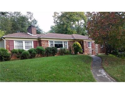 Asheville Single Family Home Under Contract-Show: 7 Glenview Road