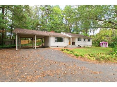 Asheville NC Single Family Home For Sale: $289,500