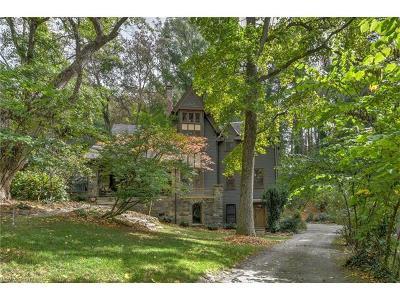 Asheville Single Family Home For Sale: 18 Cherokee Road #Lot 2