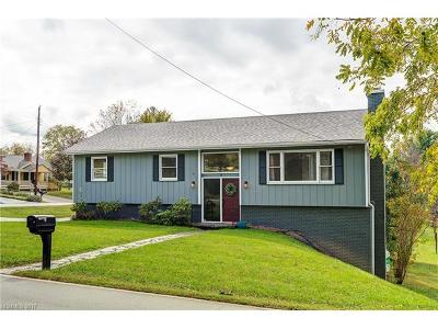 Weaverville Single Family Home Under Contract-Show: 9 Hamburg Mountain Road