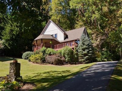 Waynesville Single Family Home Under Contract-Show: 639 Little Mountain Road