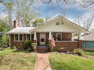 Asheville Single Family Home For Sale: 33 Mardell Circle