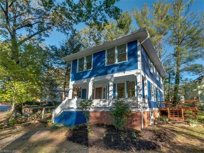 Asheville NC Single Family Home For Sale: $489,000