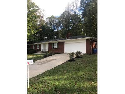 Asheville Single Family Home For Sale: 72 Jeffress Avenue