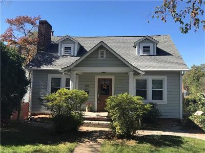 Asheville Single Family Home For Sale: 160 Dorchester Avenue