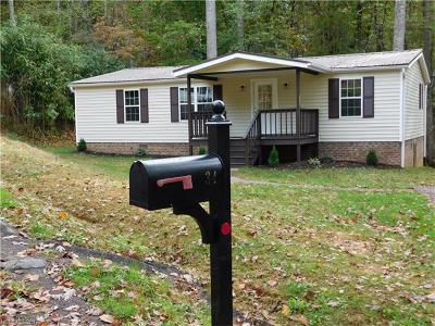 Brevard Manufactured Home Under Contract-Show: 34 Middle Ridge Road