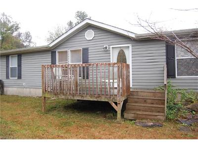 Transylvania County Manufactured Home For Sale: 2053 Nancy Mountain Road