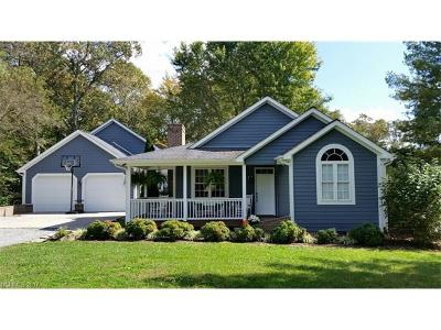 Hendersonville Single Family Home Under Contract-Show: 1128 Gilliam Road