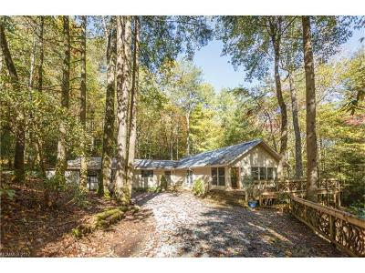 Lake Toxaway Single Family Home For Sale: 2737 Diamond Creek Road