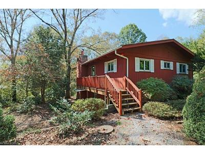 Pisgah Forest Single Family Home Under Contract-Show: 517 Bass Lake Drive #30+ 31