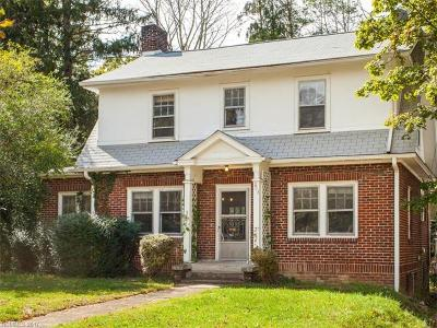 Asheville Single Family Home For Sale: 203 Brucemont Circle