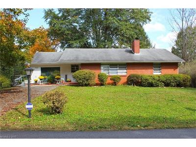 Brevard Single Family Home For Sale: 245 Carolina Avenue