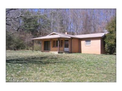 Weaverville Single Family Home For Sale: 4 Brinwood Drive #1&2, Prt