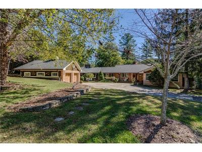 Hendersonville Single Family Home Under Contract-Show: 1159 Ransier Drive