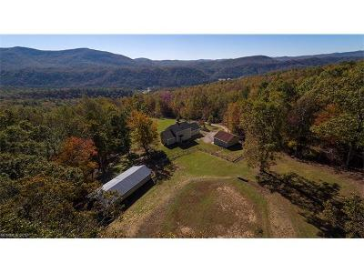 Hendersonville Single Family Home Under Contract-Show: 885 Pridmore Hollow Road