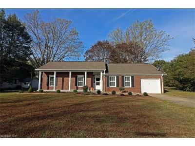 Brevard Single Family Home For Sale: 100 Neely Road