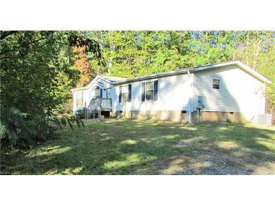 Asheville Manufactured Home For Sale: 96 White Oak Gap Road