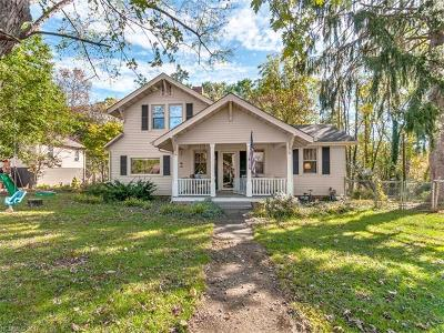 Asheville Single Family Home For Sale: 108 & 106 Arco Road