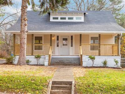 Asheville Single Family Home For Sale: 126 Hanover Street