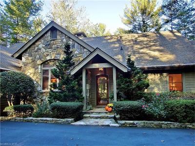 Transylvania County Single Family Home For Sale: 577 Winding Creek Road #39