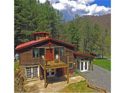 Waynesville Single Family Home For Sale: 72 Scotchmans Road