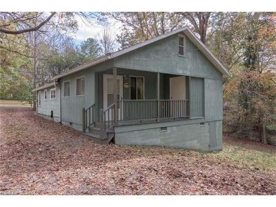 Black Mountain Single Family Home For Sale: 349 McCoy Cove Road