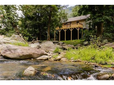 Bat Cave, Gerton Single Family Home Under Contract-Show: 202 Lake Lure Highway