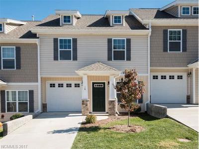 Weaverville Condo/Townhouse For Sale: 18 Barnett Shoals Drive