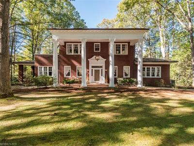 Biltmore Forest Single Family Home For Sale: 319 Vanderbilt Road
