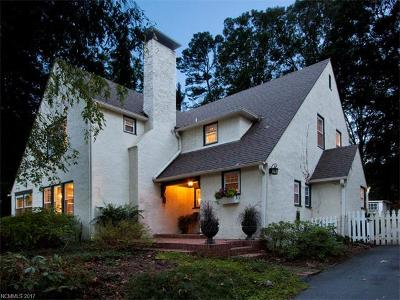 Biltmore Forest Single Family Home For Sale: 31 White Oak Road