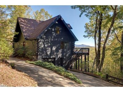 Lake Toxaway Single Family Home Under Contract-Show: 81 Hawks Nest Lane