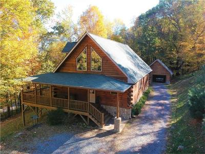 Waynesville Single Family Home Under Contract-Show: 22 Burnt Fork Trail #301