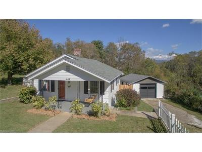 Asheville Single Family Home For Sale: 444 Fairview Road