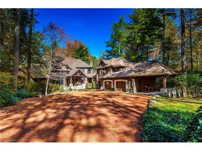 Lake Toxaway Single Family Home For Sale: 46 Mills Creek Drive