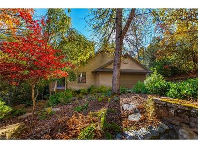 Brevard Single Family Home For Sale: 1155 Soquili Drive #U9L112