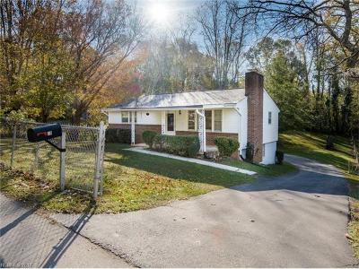 Asheville Single Family Home Under Contract-Show: 57 Bellevue Road