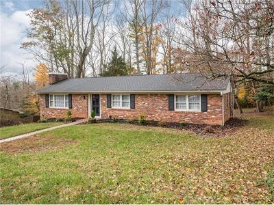 Asheville Single Family Home For Sale: 22 Westridge Drive