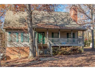 Black Mountain Single Family Home Under Contract-Show: 820 Lakey Gap Road