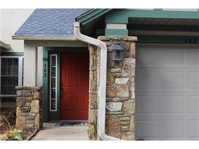 Brevard Condo/Townhouse For Sale: 99 Ridgetop Circle #102