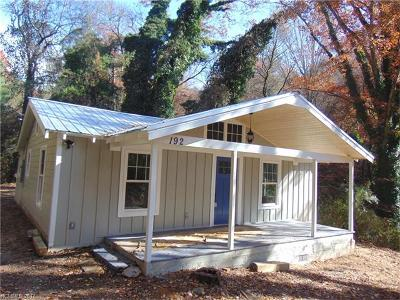 Transylvania County Single Family Home Under Contract-Show: 192 Cox Road