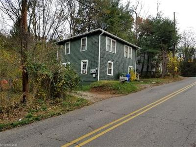 Asheville Multi Family Home For Sale: 600 1/2 Fairview Road