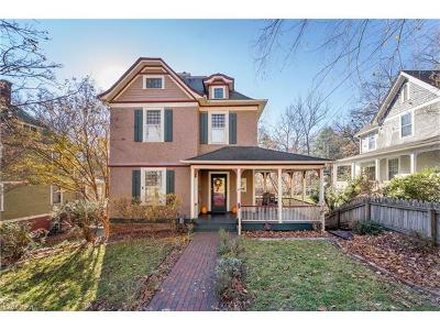 Asheville Single Family Home For Sale: 40 Watauga Street