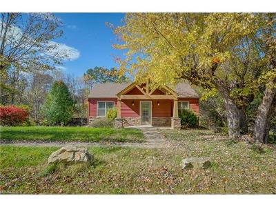 Weaverville Single Family Home For Sale: 8 N Buncombe School Road