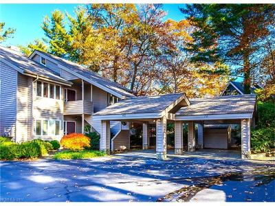 Lake Toxaway Condo/Townhouse For Sale: 38 Country Club Village Drive #B1