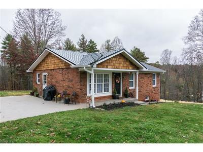 Weaverville Single Family Home Under Contract-Show: 44 Good Neighbor Ridge Ridge