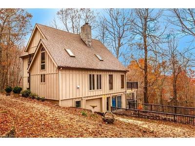 Brevard Single Family Home For Sale: 148 Tsisqua Circle