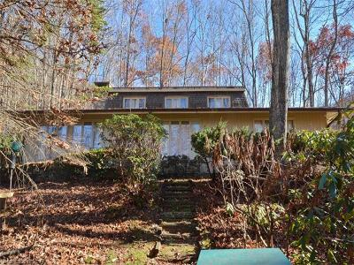 Waynesville Single Family Home For Sale: 473 Wildcat Mountain Road