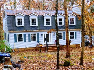 Brevard Single Family Home For Sale: 102 Mockingbird Lane #323 & 32