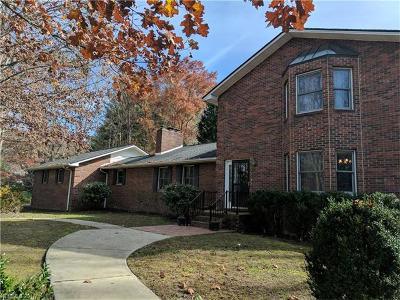 Hendersonville Single Family Home For Sale: 862 N Rugby Road